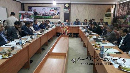 مهدی ملاغلامعلی قائم مقام مدیر اجرای سرشماری استان در جلسه شورای اداری شهرستان ترکمن حضور یافتند.