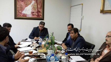برگزاری جلسه هماندیشی بهنگامسازی فهرست گاوداریهای صنعتی استان