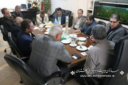 برگزاری جلسه بررسی آمار و اطلاعات توصیفی و مکانی بخش شیلات استان