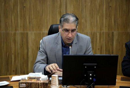 برگزاری جلسه ویدئو کنفرانس در معاونت آمار و اطلاعات با حضور رئیس مرکز آمار ایران