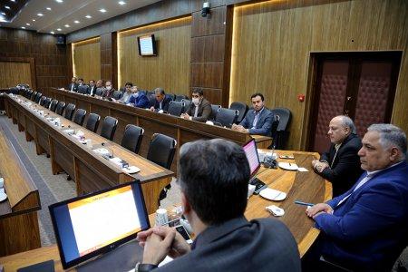 برگزاری جلسه با نمایندگان بانک ها در رابطه با پیاده سازی و جمع آوری اطلاعات بانک ها در سامانه سیمابر