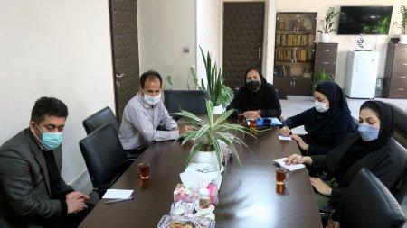 برگزاری جلسه گروه کاری کاربران نقشه و اطلاعات مکانی و زیرساخت داده های مکانی (SDI)استان